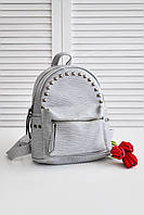 Женский стильный рюкзак Рюкзак 001 (Молочно-белый цвет)