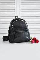 Женский городской рюкзак (чёрный)