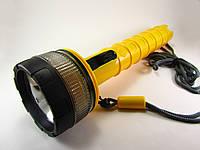 Фонарь для дайвинга желтый 4*R20, фото 1