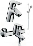 Набор для ванной комнаты Hansgrohe 31934000 Focus E2 (комплект 3 в1)
