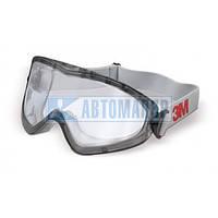 Очки защитные 3М 2890А, прозрачный ацетат AF