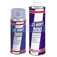 Антикоррозионное покрытие для скрытых полостей(Мовиль), Body 900 5л безцвет.