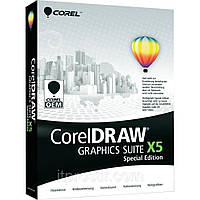 CorelDRAW Graphics Suite X5 Special Edition DVD