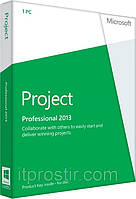 Microsoft Project Pro 2013 32-bit/x64 English DVD