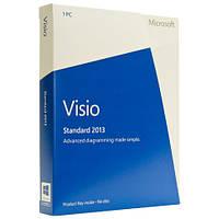 Microsoft Visio Std 2013 32-bit/x64 Russian CEE DVD