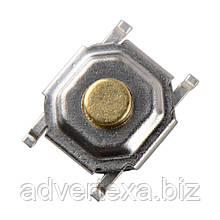 Тактильная кнопка 4*4*1.5 мм, микропереключатель SMT 4-контактный