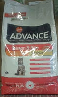 Advance (Эдванс) Сухой корм для котов Sensitive, лосось и рис 15кг