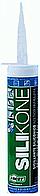 Силиконовый герметик FACOT ANTI-MILDEW ACETIC SILICONE BL 280 гр (тюбик под пистолет), белый