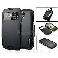 Чехол SGP Slim Armor Wiew для Samsung i9500 S4 Черный, фото 1