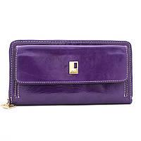 Кошелек женский кожаный  JCCS W-JS01652 фиолетовый