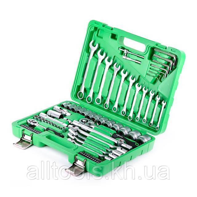 Набор инструментов для дома или гаража INTERTOOL ET-6077