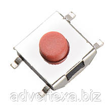 Тактильная кнопка 6*6*2.5 мм, микропереключатель SMT 4-контактный