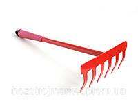 Грабельки садовые металлической ручкой