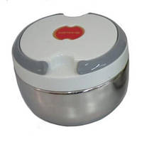 Пищевой термос судочек ланч бокс 0,7л White , термосы украина