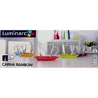 Lum.Carina Rainbow.Набір чайний 220мл-12пр.Е
