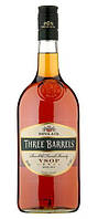 Бренди Three Barrels VSOP 1 л.