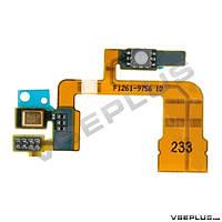 Шлейф Sony C6502 Xperia ZL / C6503 Xperia ZL / C6506 Xperia ZL, с кнопкой камеры, с микрофоном