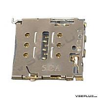 Разъем на SIM карту Huawei Ascend P6