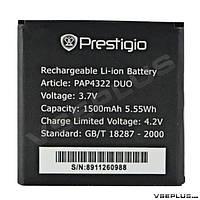 Аккумулятор Prestigio MultiPhone PAP 4322 DUO, original