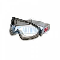 Очки защитные с уплотнителем 3М 2890SА, прозрачный ацетат AF