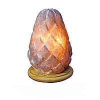 """Соляной светильник """"Шишка малая"""" (1 кг) Ваше Здоровье"""