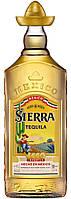 Текила Сиерра Репосадо Голд 38%  0,35 л.