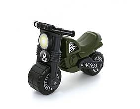 Каталки и качалки «Полесье» (49308) мотоцикл Моторбайк военный (РБ)