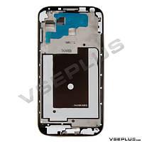 Рамка дисплея Samsung I9500 Galaxy S4, серебряный