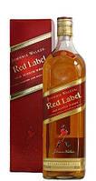 Виски Johnnie Walker Red label (кор.) 1 л