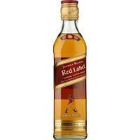 Виски Johnnie Walker Red label 0,35 л