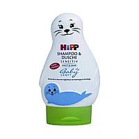 Шампунь и гель для душа HiPP Babysanft 2в1 для детей, 200 мл 9548 ТМ: HIPP BabySanft