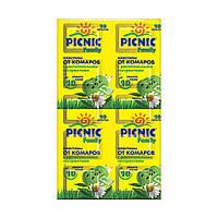 Пластины от комаров Picnic Family, 10 шт 7743 ТМ: Picnic