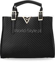05-19 Черная женская сумка модель Parker