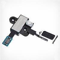 Конектор наушников Samsung N7100 Note 2/ N7105,  со шлейфом,  с динамиком