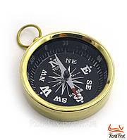 Карманный бронзовый компас
