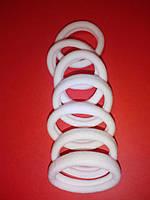 Резинка безшовная 4 см белая