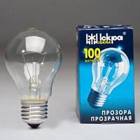 Лампа накаливания «Іскра» 100 Вт прозора