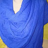 Шарф жатка  синий(разные цвета)