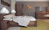 Спальный гарнитур комплект шкаф 4Д, прикроватные тумбы, комод, зеркало, кровать2С без матраса Стамбул