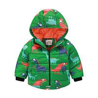 Детская Куртка демисезонная для мальчика рост 100 см