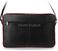 05-19 Черный мужской портфель для ноутбука модель Dondzheta