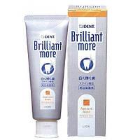 "LION Whitening toothpaste ""Brilliant more"" Отбеливающая зубная паста  90 г"