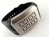 Часы мужские Alberto Kavalli бинарные, LED, стальной циферблат, лучший дизайн, фото 1