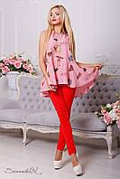 Стильная женская рубашка-туника 2133 Seventeen 42-48 размеры