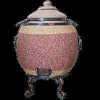 Печь тандыр Утепленный 3У (Мраморная крошка узор)