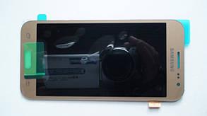 Дисплей с сенсором Samsung J200 Galaxy J2 Gold оригинал, GH97-17940B, фото 3