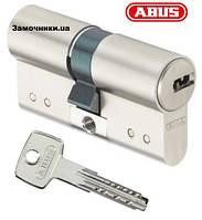Цилиндр Abus D15 60мм. (30х30) ключ-ключ никель