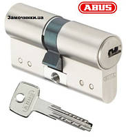 Цилиндр Abus D15 70мм. (30х40) ключ-ключ никель