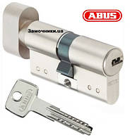 Цилиндр Abus KD15 70мм. (40х30Т) ключ-поворотник никель