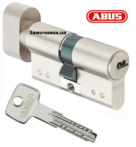 Цилиндр Abus KD15 95мм. (45х50Т) ключ-поворотник никель